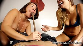Chastity Humiliation by Two Hot Bitches Miss Brat Perversions, Nikki Brooks