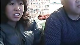 Chinese Couple Sex Life before Cam