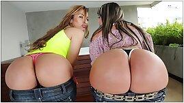 Brick Danger Enjoys Big Ass Latinas In Colombia!