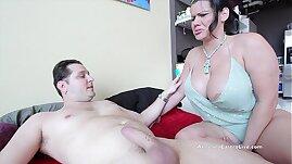 Sara Jay Angelina Castro fucking Huge White Cock!