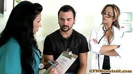 CFNM nurse Mason Moore gets some jizz