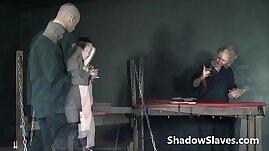 Faes breast whipping punishment and rough tit tortures of amateur bdsm slavegirl
